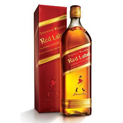 Johnnie Walker RED 0,7L box-kutija.