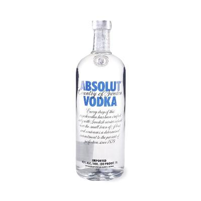 Absolut blue 1L Vodka