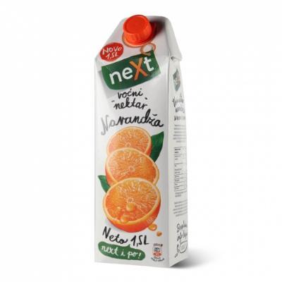 Next cl. narandža  1,5L SOK BRIK
