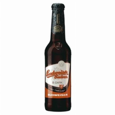 Budweiser tamno 0,33L pivo