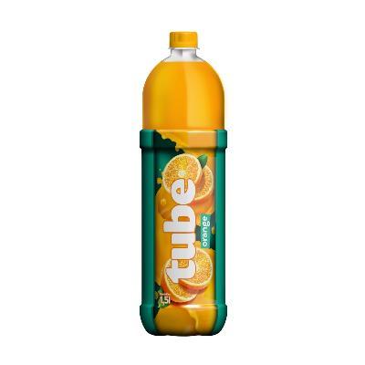 Tube orange 1,5L pet sok