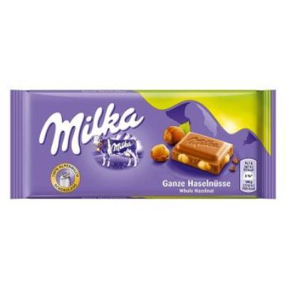 Milka wholenuts 270g