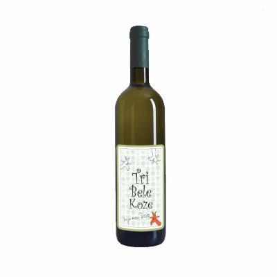 Tri Bele Koze 0,75L Erdevik Vino