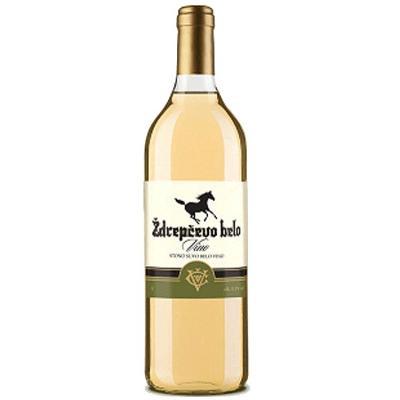 Ždrepčevo belo 1L Čoka vino.