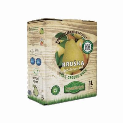 Bag in box kruška 3L sok Zdravo produkt