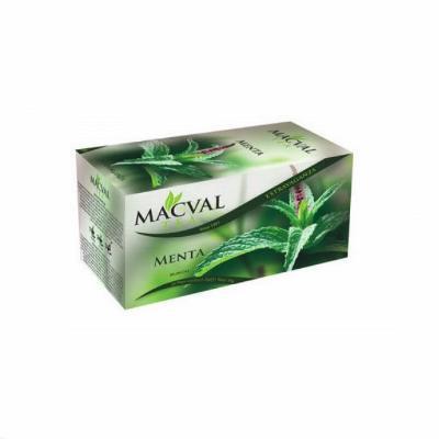 Čaj Menta ALL NAT 20g MACVAL