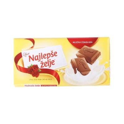Čokolada Najlepše želje mlečna 90gr..