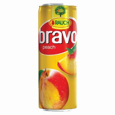 Bravo Breskva 0.25L limenka