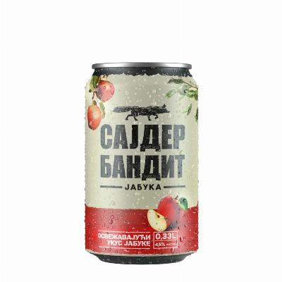 Sajder Bandit jabuka 0,33L limenka