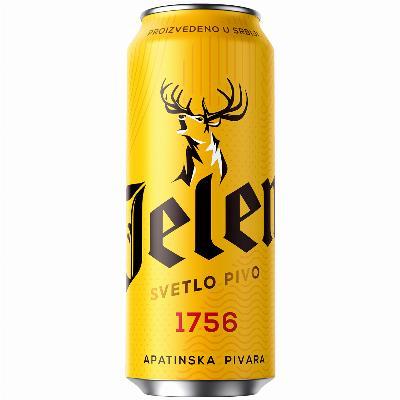 jelen pivo 0,5 limenka