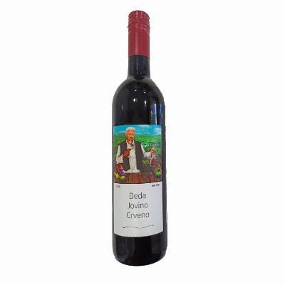 Deda Jovino crveno vino 0,75L