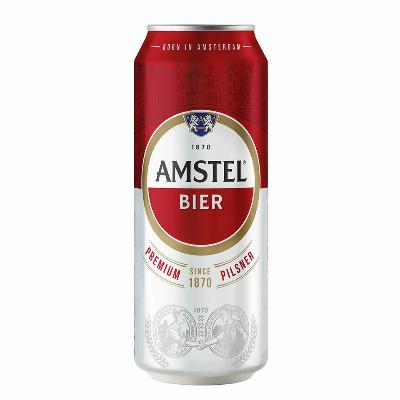 Amstel 0.5L limenka