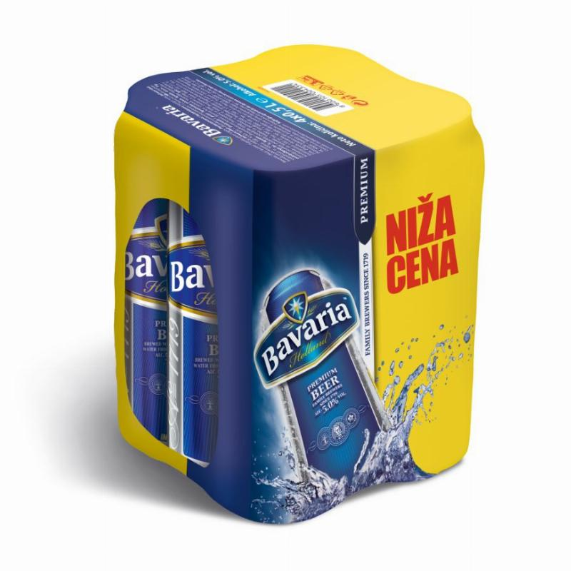 Bavaria premium 0.5Lx4 lim. PIVO