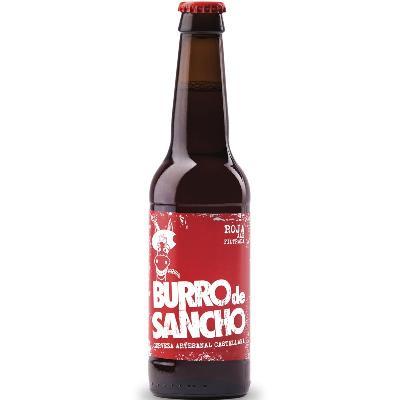 Burro Sancho Roja 0,33L pivo