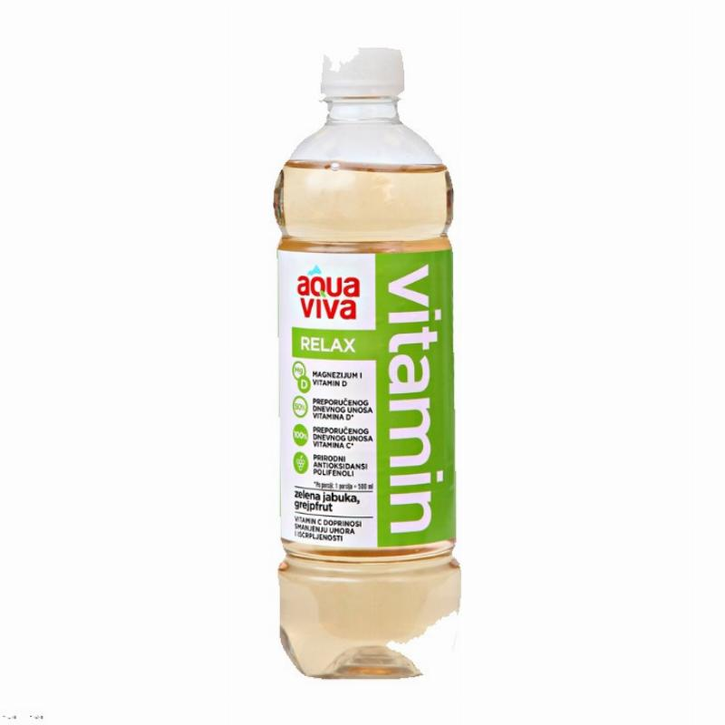 Akva viva 0,5L RELAX PET VODA