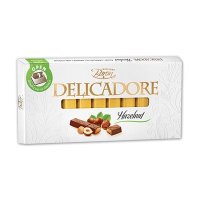 Čokolada Baron Delicadore 200g sa lešnikom u štanglicama