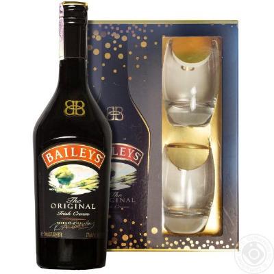 Baileys Orig 0,7l+2 čaše