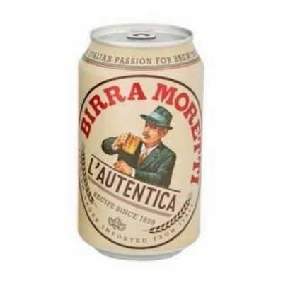 Birra Moretti 0,33L Limenka PIVO